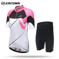 XINTOWN Ropa Ciclismo 2017 Women Merida Pro Team Cycling Jersey Short Sleeve Clothing Bike MTB Bicycle