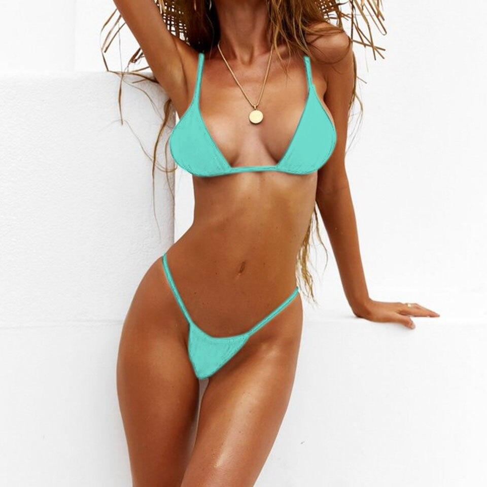Blue Bikinis