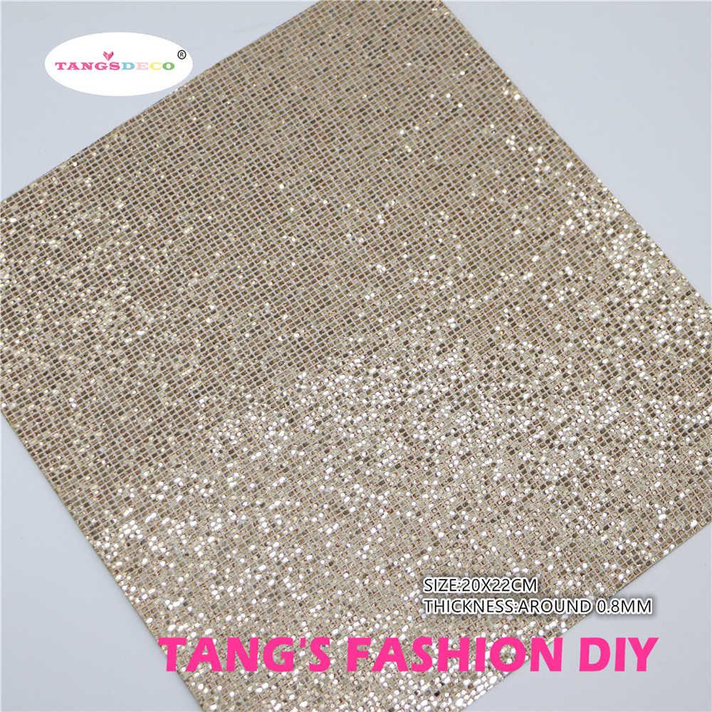 6pcs-High Qualidade NEW MIX ESTILO Ouro Rosa cor mix PU LEATHER set/conjunto de couro sintético/tecido DIY 20x22 cm por pcs