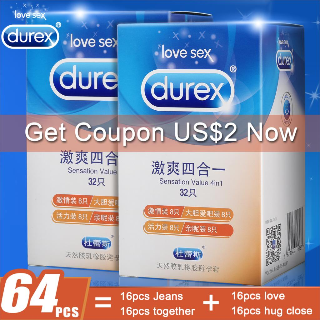 64pcs Durex Condoms Sex Toy for Men Ultra Thin Sensation Penis Cock Sleeve with Extra Lubricated Natural Latex Condoms64pcs Durex Condoms Sex Toy for Men Ultra Thin Sensation Penis Cock Sleeve with Extra Lubricated Natural Latex Condoms