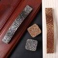 Novo Estilo Clássico Europeu Sólido de Liga de Zinco de Prata/Ouro Armários Handle/Pull Handle Knob