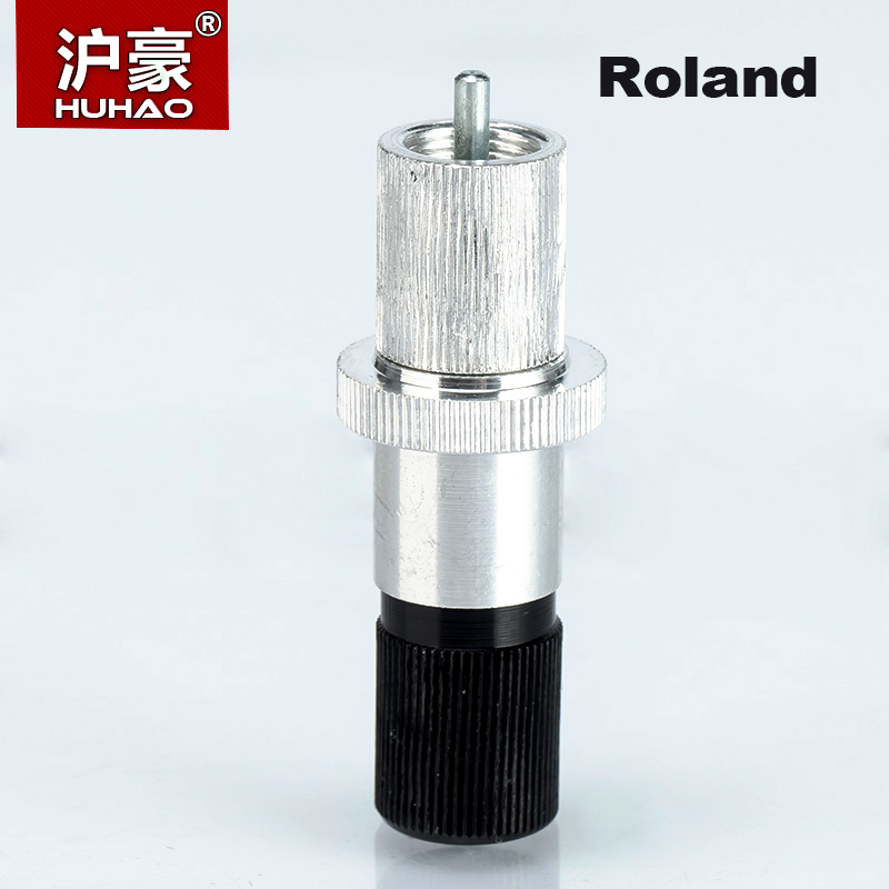HUHAO 1pc Roland Vinyl Cutter Blade Holder For Computer Lettering Carving Router Bits 1 cutting blade holder for graphtec cb09 silhouette cameo holder 15pcs blades vinyl cutter plotter 30 degree free shipping