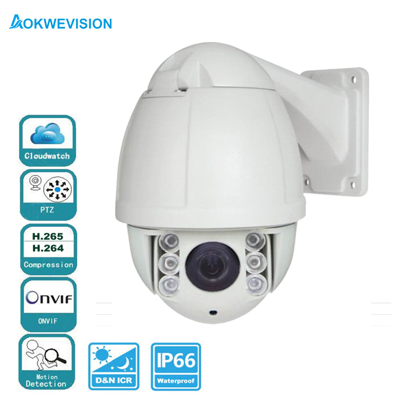 H.265/H.264 4MP 3mp Mini security ptz ip camera megapixel 10X optical zoom SD card support outdoor waterproof speed dome брюки для бега женские adidas rs wr ast pt w цвет черный ax6603 размер l 48 50