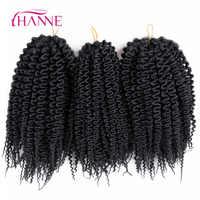 HANNE Freetress A Bassa Temperatura In Fibra 10 52 strands/pc Pre Loop Isola Torsione Crochet Trecce Treccia Sintetica capelli