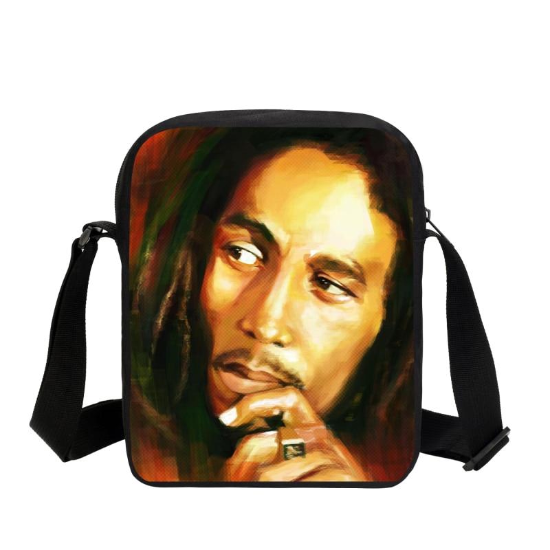 2019 Music Star Reggae Bob Marley Personaje Impreso Bolsas de - Bolsos - foto 4