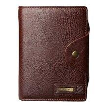 2019 Brand Designer Men Wallet PU Leather Wallet Card Holder