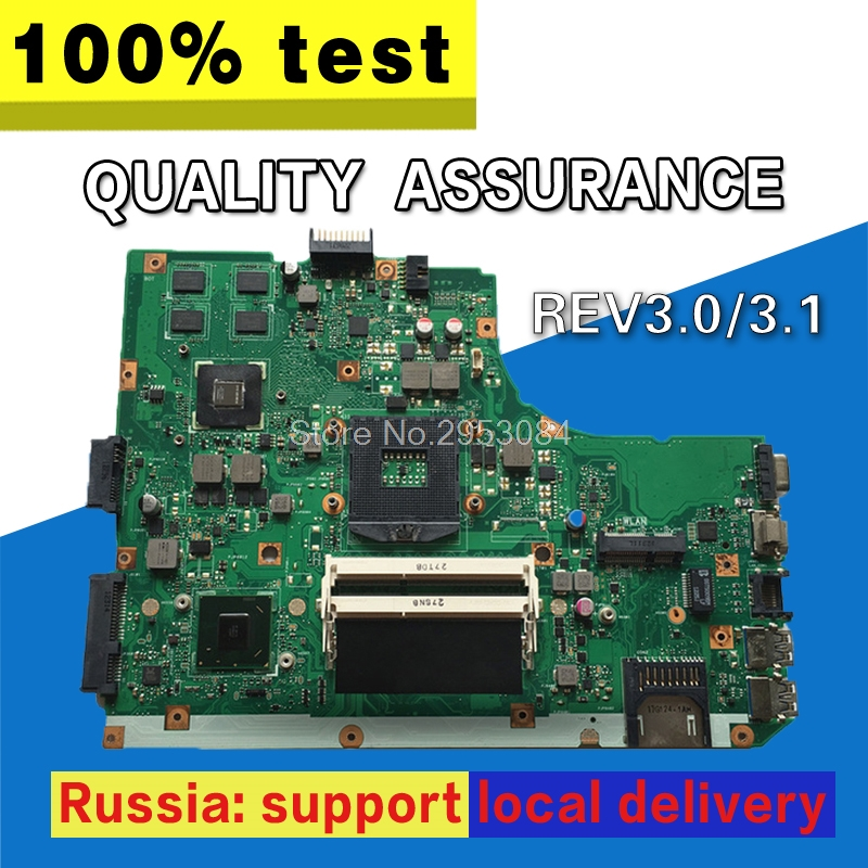 NEW! Non-Integrated Laptop Motherboard for ASUS K55VD REV 3.0 GT610M 2GB USB3.0 N13M-GE1-S-A1 HM76 PGA989 DDR3 100% Tested OK цена