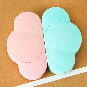 Image 2 - 24 pcs/lot Korean 5M Cute Clouds Mini Decorative Correction Tape Kawaii Stationery Gift for Student Kids Office School Supplies