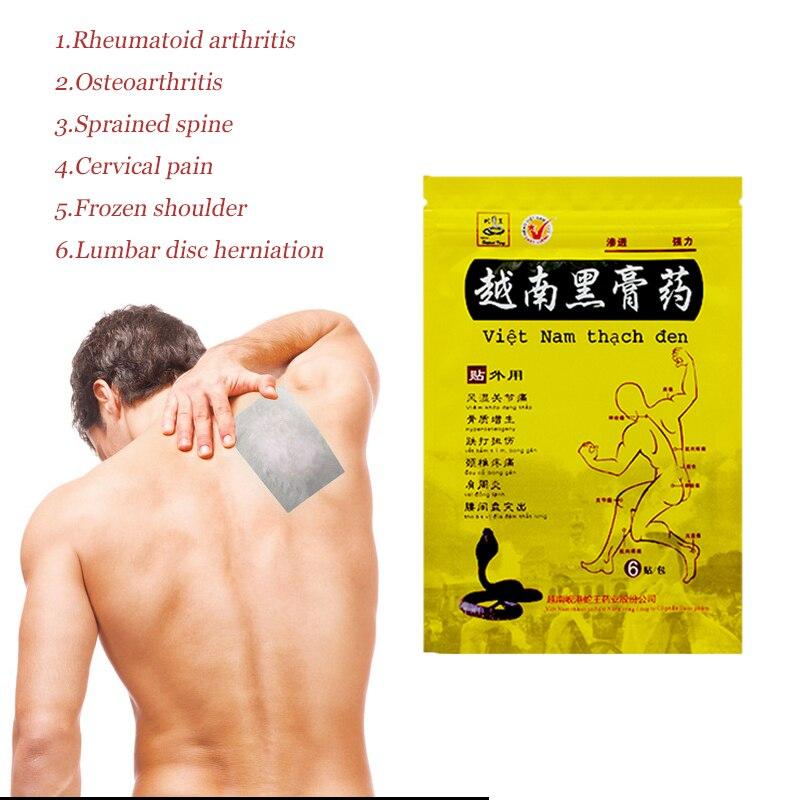 110*150mm Bigger Vietnam Black Plaster Relief Analgesic Patch For Joint Pain Rheumatoid Arthritis Anti-inflammatory Massager