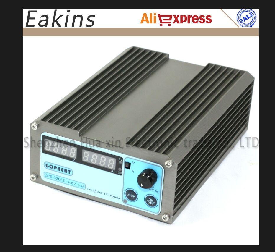 precision Compact mini Digital Adjustable DC Power Supply CPS 3205II OVP OCP OTP 32V5A 110V 230V