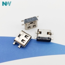10pcs Micro USB charge Connector TYPE-C 3.1 type 16P Full Pa