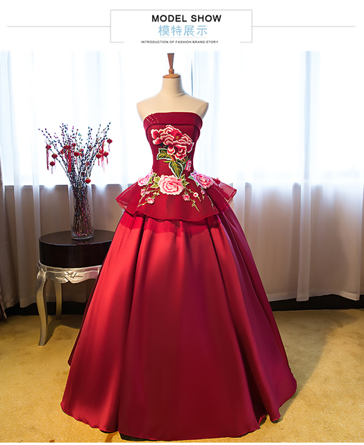 Belle robe vin