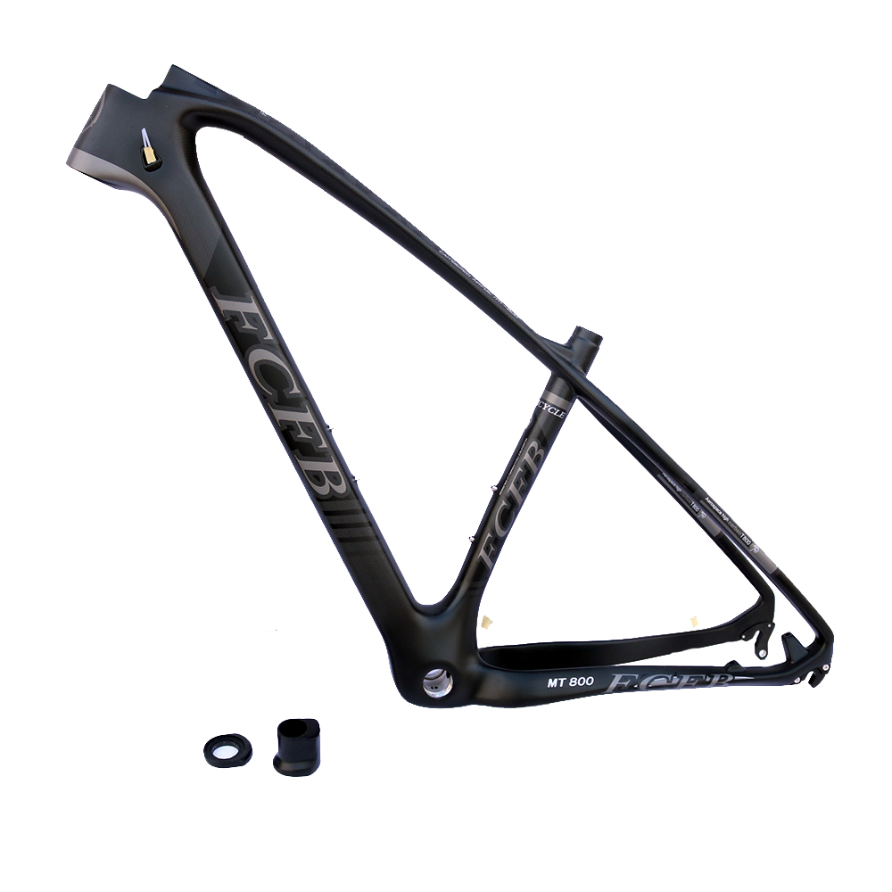 FCFB T800 carbon mtb frame 27.5 29er mtb carbon frame carbon mountain bike frame  135*9mm MT800  3k matt  bicycle frame giant 26 mountain bike mtb frame atx pro