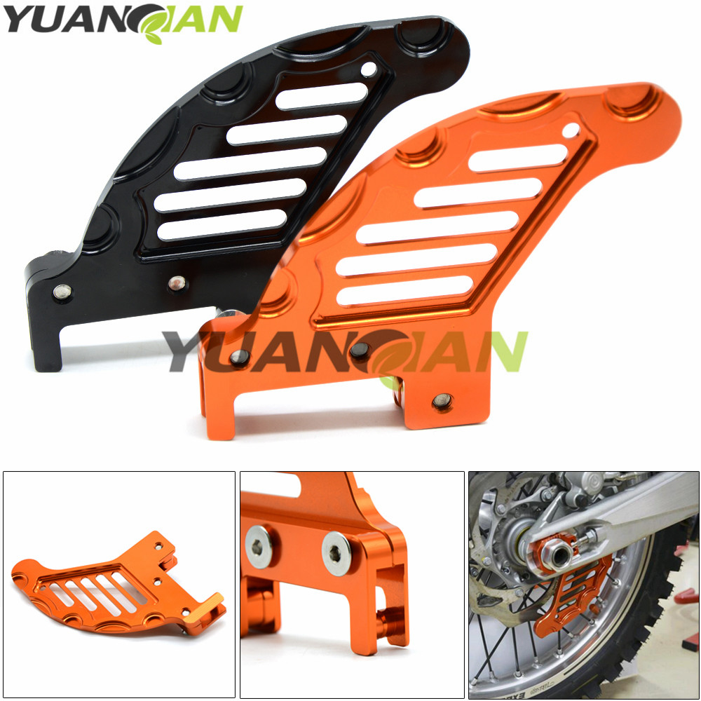 2017 Dirt bike Motorcycle Rear Brake Disc Guard Potector for KTM XCF XCRW EXCR EXC SXF SXR XCW SX 65 85 105 125 250 300 350 450 for ktm excr