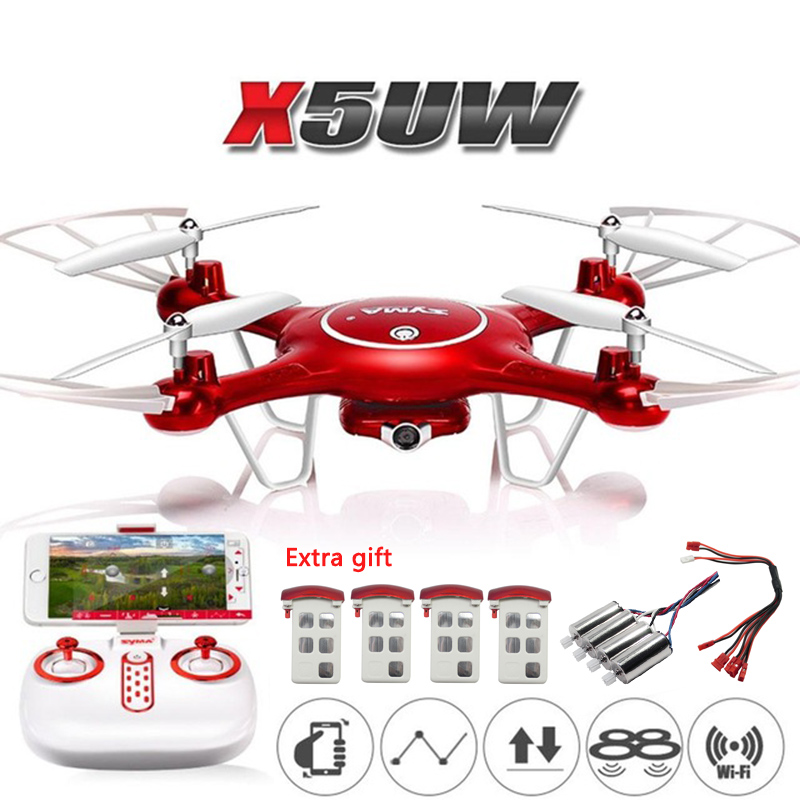 Original SYMA X5UW X5UC RC Drone With HD 720P Camera 2.4G 4CH 6Axis RC Quadcopter Selfie FPV Wifi Helicopter RTF ToysOriginal SYMA X5UW X5UC RC Drone With HD 720P Camera 2.4G 4CH 6Axis RC Quadcopter Selfie FPV Wifi Helicopter RTF Toys