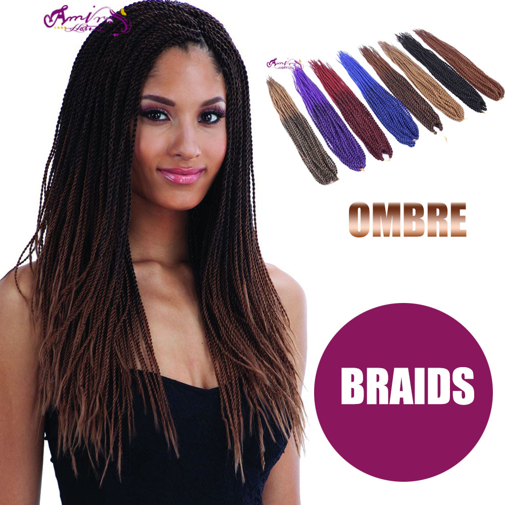 2016 Ombre Freetress Braid Bulk Micro Senegalese Twist Crochet