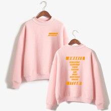 2019 NEW Sell well ATEEZ Oversize Warm Turtlenecks Women Kpop Sweatshirt Hoodie Sweatshirts Winter/Autumn Clothes