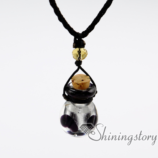 Vial Necklace For Ashes: Pet Urn Necklaces Necklace Vials For Ashes Cremation