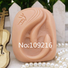 New Product!!1pcs Lovers Fish (zx222) Food Grade Silicone Handmade Soap Mold Crafts DIY Mould