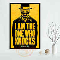 Breaking Bad Poster Custom Satin poster print cloth fabric wall poster print Silk Fabric Print