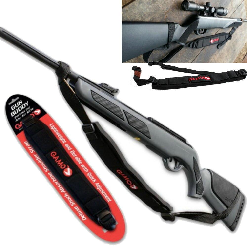 Novo gamo arma amigo perfeito para qualquer rifle de ar sling giros caça trail gun sling acessórios rifle shotguns gamo slings