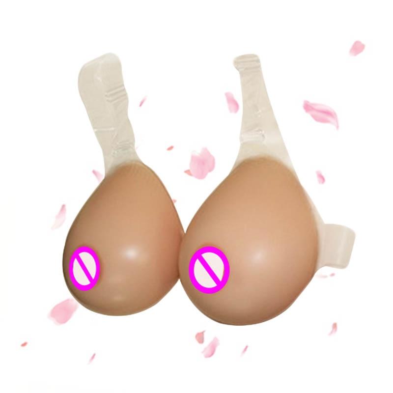STD Style Transgender Artificial Boobs False Breast Crossdresser Silicone Soft Breast Forms