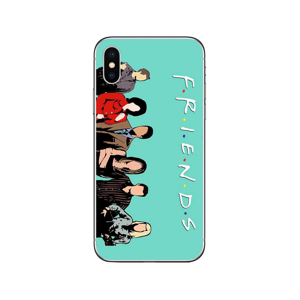 Ciciber série TV amis couverture Funda pour Iphone 7 8 6 6S Plus 5S SE 11 Pro Max téléphone souple étui pour Iphone X XS MAX XR Coque