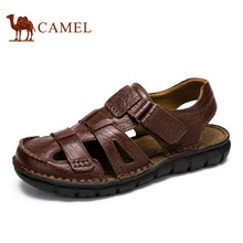 Camel Men's Casual Genuine Leather Sandals A622396142