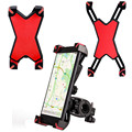 Universal Bicycle Phone Holder 3.5 - 7 inch Width Bike Phone Mount Mobile Phone Support For iPhone Android Phone and GPS Devices