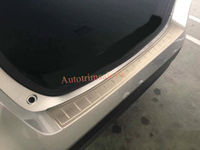 1pcs Outside Rear Bumper Plate Cargo Step Guard for Toyota Prius XW50 2016 2017