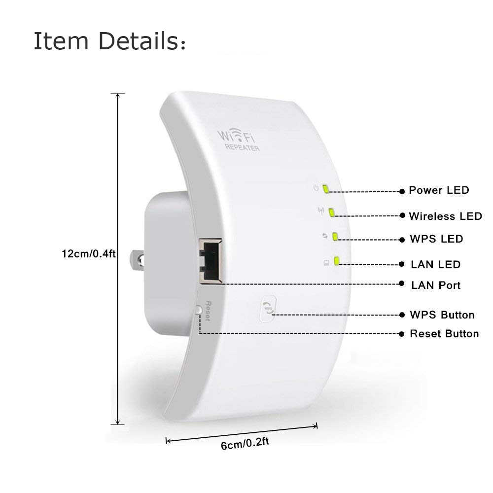 300Mbps Mini Wireless Signal Amplifier Booster WIFI Repeater Router Extender