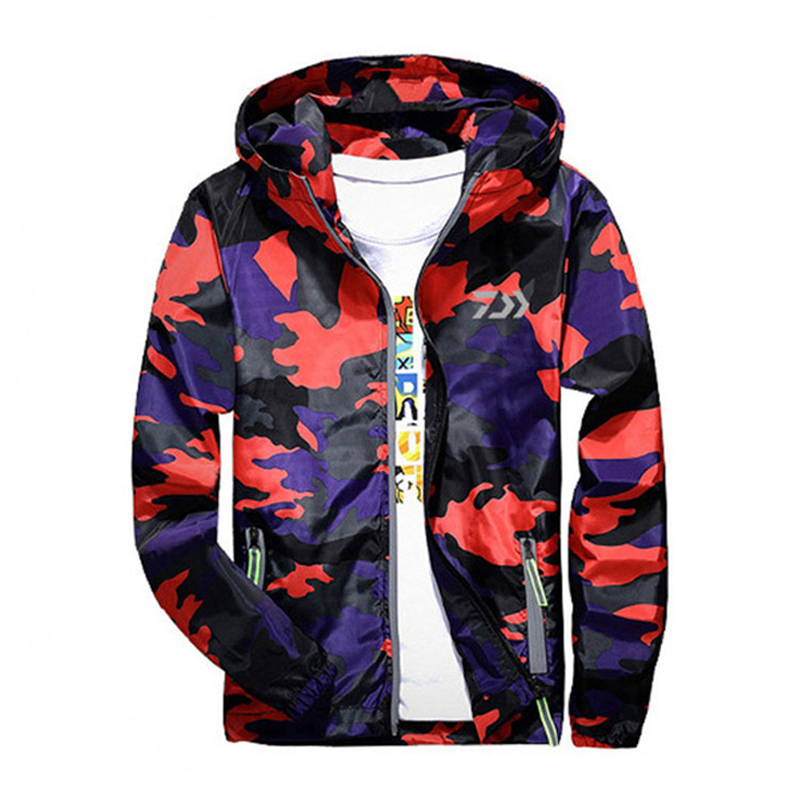 2018 New Outdoor Sports Camouflage Fishing Clothing Men Fishing Shirts Breathable Quick Dry Fishing Jackets Clothes цены онлайн