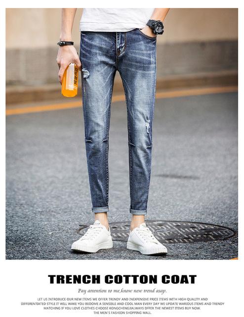 New Mens Winter Thicken Stretch Denim Jeans Warm Fleece Jean Pants Trousers Plus