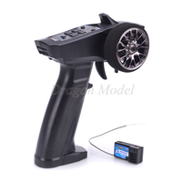 TURBO 91803G 91803G VT 2.4GHz 3CH 3 channel Radio system Transmitter Controller remote control with Receiver for RC Car Boat