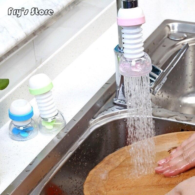 360 Adjustable Flexible Kitchen Faucet Tap Extender Faucet Save Water Splash-Proof Water Outlet Shower Head Water Filter Sprink360 Adjustable Flexible Kitchen Faucet Tap Extender Faucet Save Water Splash-Proof Water Outlet Shower Head Water Filter Sprink