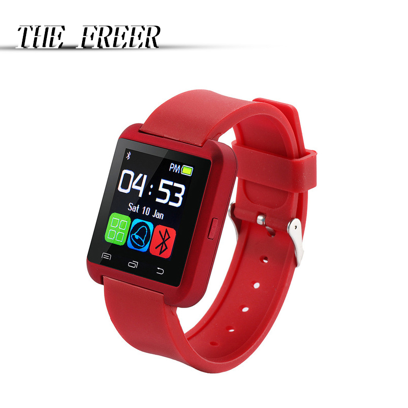 Akıllı Spor Dijital İzle U8 cep Basit Saat Ucuz android dokunmatik - Erkek Saatleri - Fotoğraf 1