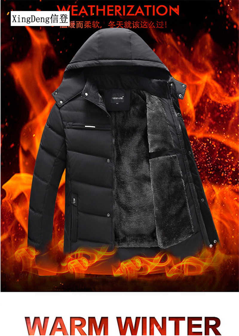 Jackets Clothing Coat Formal Waterproof Winter Fashion Cotton New-Arrival Brand Warm