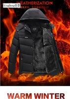 XingDeng 2019 New Arrival Brand waterproof jackets fashion warm Clothing Winter Men Cotton Winter Regular Formal Jacket And Coat