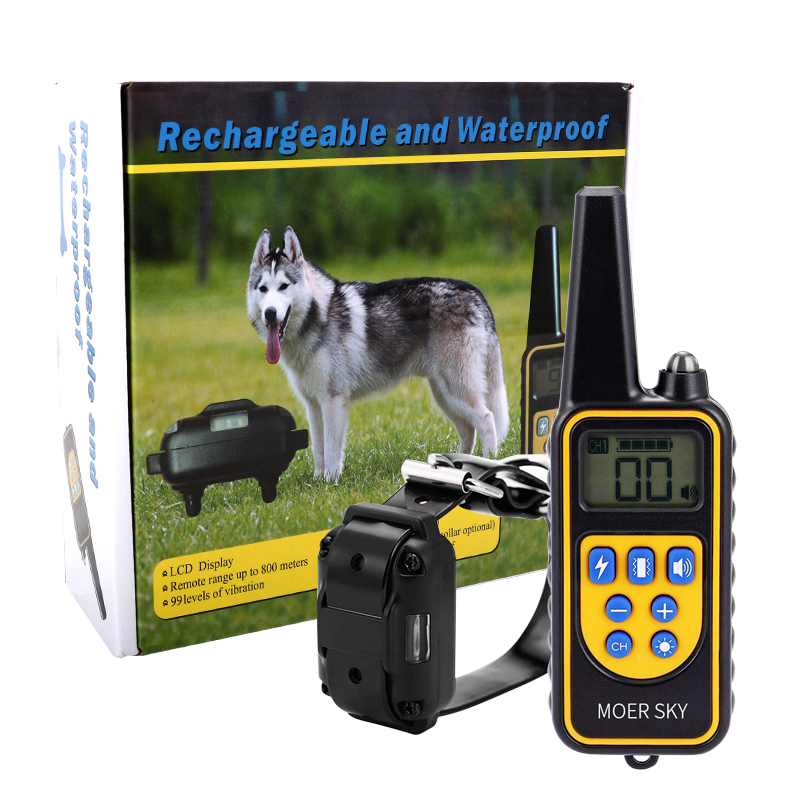 300m/500m/800m/1000m Electric Dog Training Collar Waterproof Rechargeable Anti Barking Remote Control Pet Dog Training Device300m/500m/800m/1000m Electric Dog Training Collar Waterproof Rechargeable Anti Barking Remote Control Pet Dog Training Device