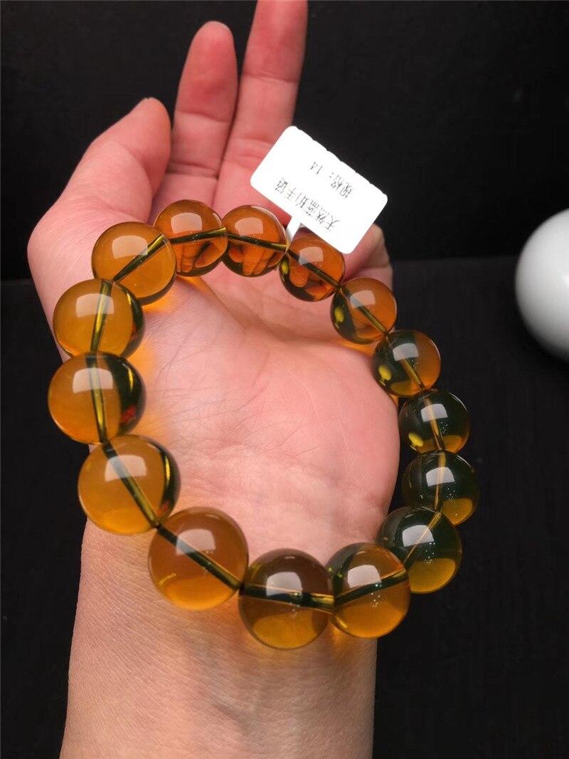 Natural Blue Amber Bracelets (4)