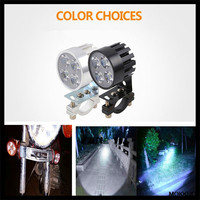 2pcs LED 오토바이 헤드 라이트 전조 등 밝은 헤드 전구 KTM 450SX SXF SXR 450XC 450XCF 450XCW XCRW