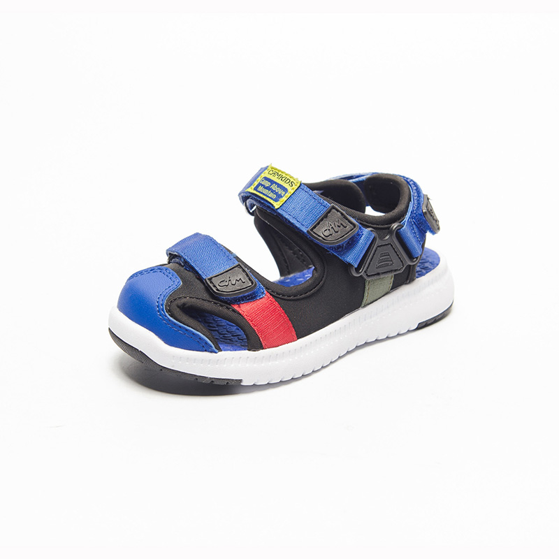 Camkids Beach Sandals Outdoor Sports Summer Shoes School Shoes Non-Slip Protective Toe Children Footware Casual Shoes For Boys