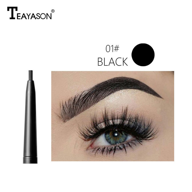 Dual ended automatic eyebrow pencil waterproof long lasting 1.5mm super slim head Microblading eyebrow tatto pen 3