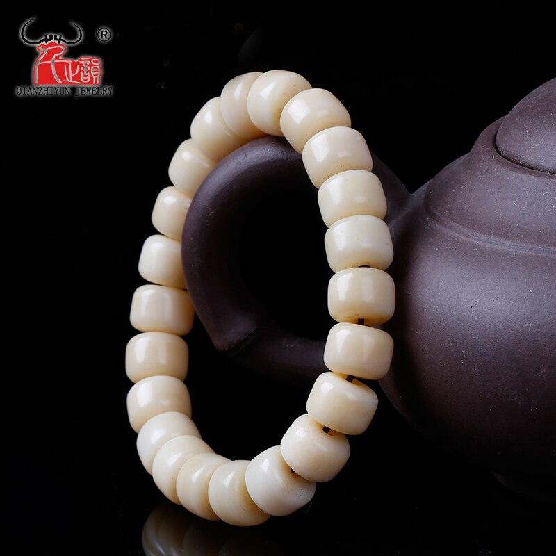 Bracelet de perles de seau en os de chameau naturel bricolage accessoires de perles bouddhistes.Bracelet de perles de seau en os de chameau naturel bricolage accessoires de perles bouddhistes.