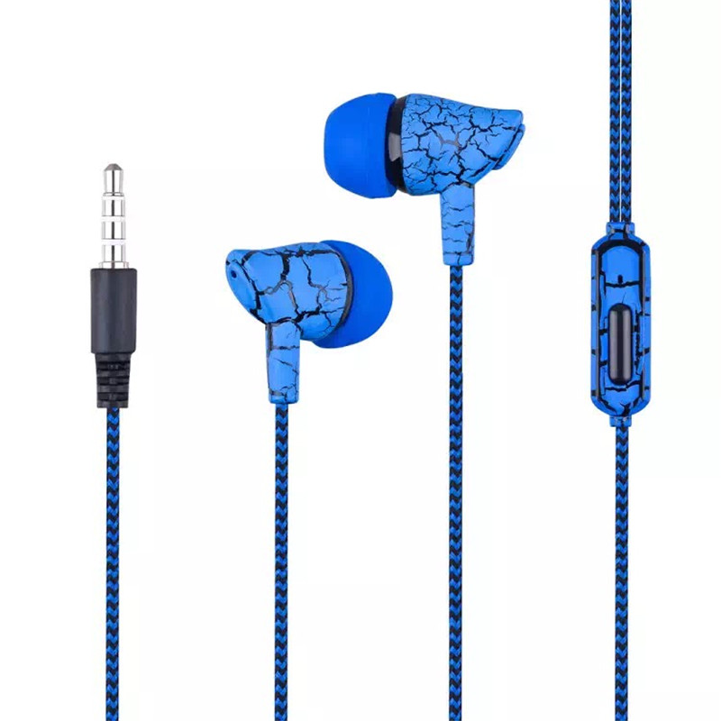 A10 3.5mm Portable Earphone Stereo Bass Earpieces Rope Wire Handfree With Mic Headset For IPhone Xiaomi Huawei Samsung