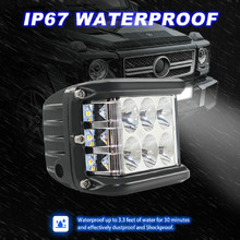 New LED Lamps For Cars 45W LED Light Work Flood Combo Side Shooter Driving Off Road SUV Car Tractor Luces Led Para Auto