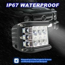 Nieuwe Led lampen Voor Auto 45W Led Licht Werk Flood Combo Side Shooter Rijden Off Road Suv Auto Tractor luces Geleid Para Auto