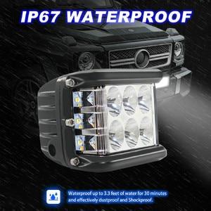 Image 1 - 新しいledランプ車のための 45 ワットledライト作業洪水コンボサイドシューター駆動オフロードsuv車トラクタールセスledパラ自動