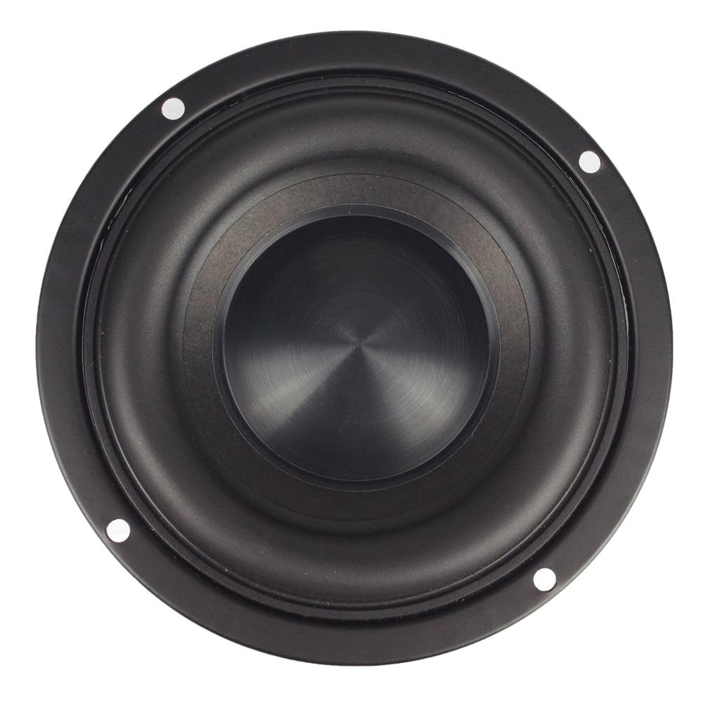Image 3 - Ceramic Cap 4 inch 116mm Subwoofer Speaker Unit 50W Black Diamond Alumina Cap Woofer LoudSpeaker Desktop Deep Bass NEW 1PCS-in Subwoofer from Consumer Electronics