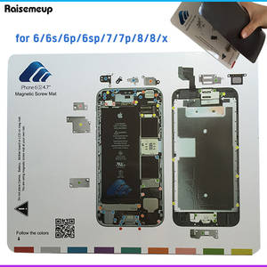 Screw-Mat Repair-Tools-Mat Magnetic iPhone 7 7-Plus for 6 6s 7p 8-work/Guide-pad/Professional-plate